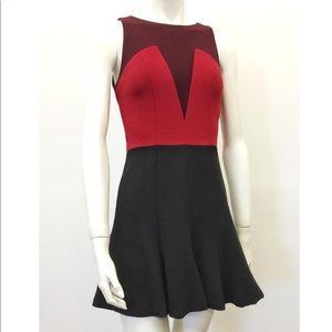 Dresses & Skirts - Porter Grey Color Block Sleeveless Dress